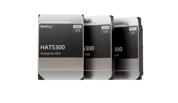 Synology announces the launch of HAT5300 which is built for demanding workloads and high capacity arrays