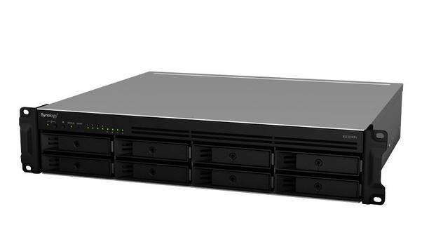 Synology Inc. Releases RackStation RS1221+ And RS1221RP+ 2U 8-bay Rackmounted Storage Servers