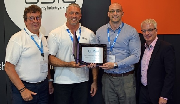 TDSi Honors ADI Global With 2017/2018 UK Distributor Of The Year Award