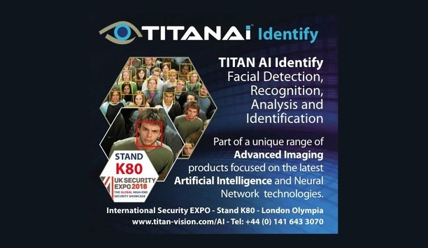 TITAN AI Identify facial recognition software facilitates high-speed, accurate subject detection, recognition and identification