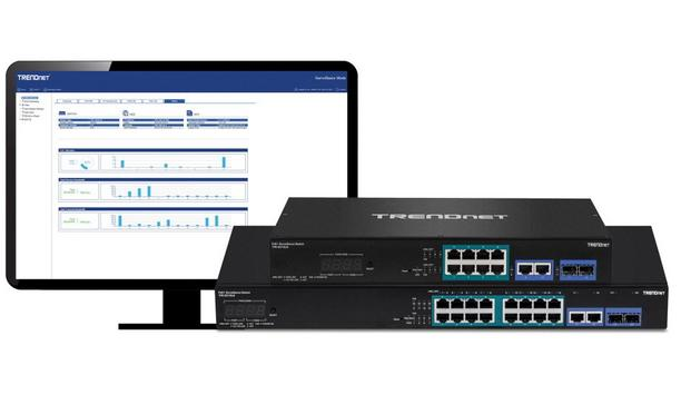 TRENDnet Announces Availability Of Gigabit PoE+ Smart Surveillance Switch Series For Purchase