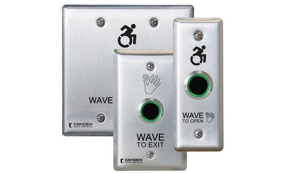 Camden Door Controls Launches CM-221 Series ValueWave™ Hands-Free Switches