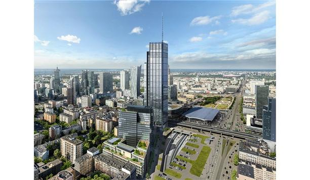 EU's tallest building complete with Forge visitor management and Inner Range access control