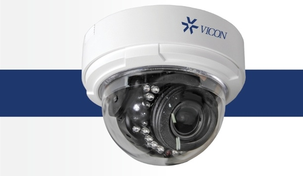 Vicon launches V800D Series H.265 indoor dome cameras