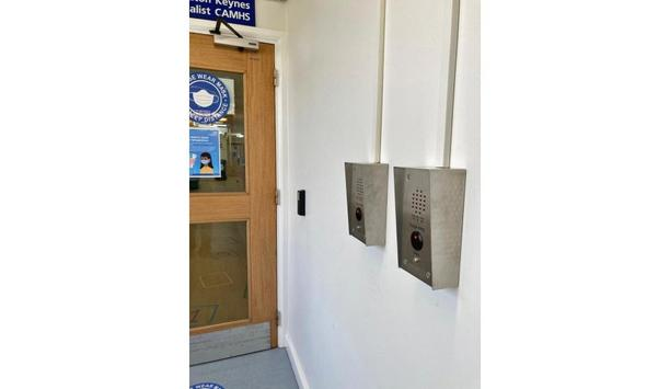 Videx VX2200 System Touch Free Entry Protects Patients, Visitors And NHS Workers At Milton Keynes University Hospital