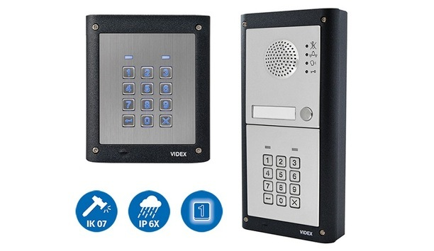 Videx announces release of latest range of its 4000 series keypads with enhanced functionality