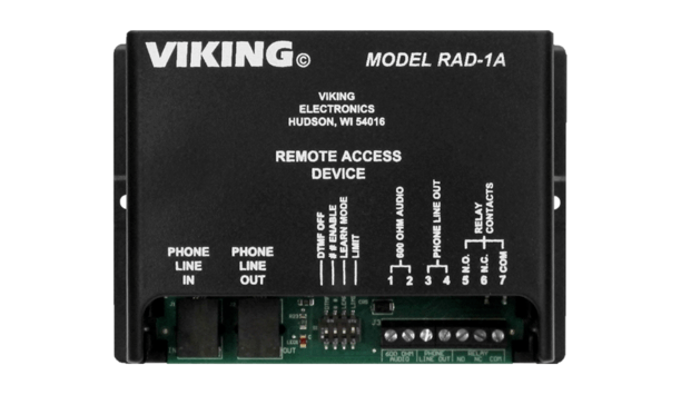 Viking Electronics' RAD-1A makes paging as simple as a phone call