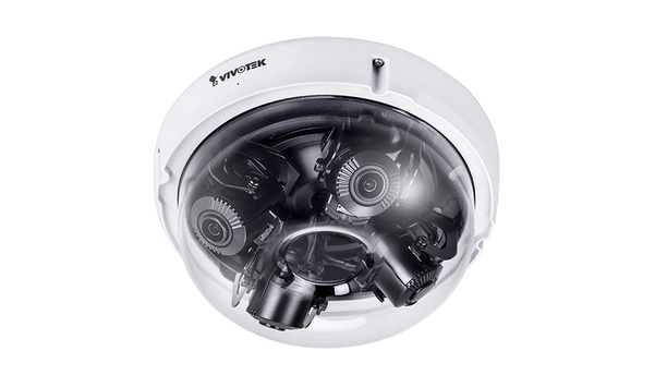 VIVOTEK introduces MA8391-ETV multi-adjustable sensor dome network camera