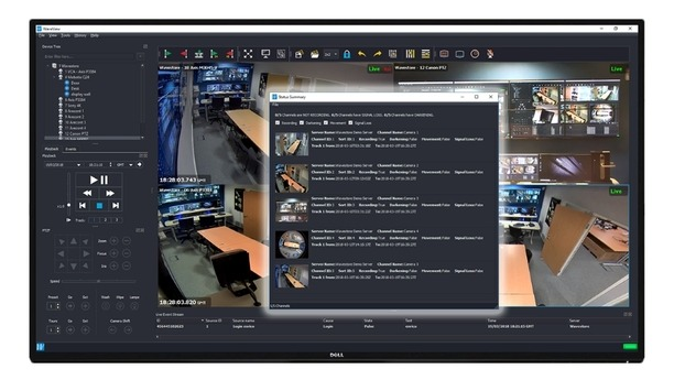 Wavestore's open-platform VMS offers future-proof surveillance and security solutions