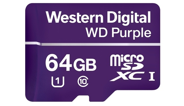 Western Digital Purple launches microSDAs designed for 4K Ultra HD video surveillance cameras and edge systems