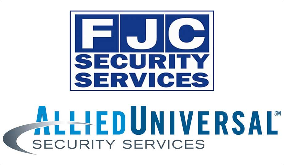 Allied Universal Buys Fjc Security Security News