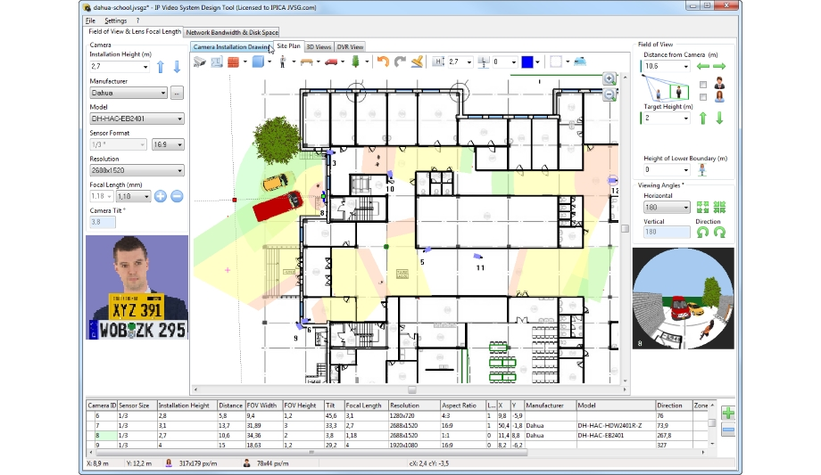 Dahua jvsg integration ip video system design tool for Ip camera design tool