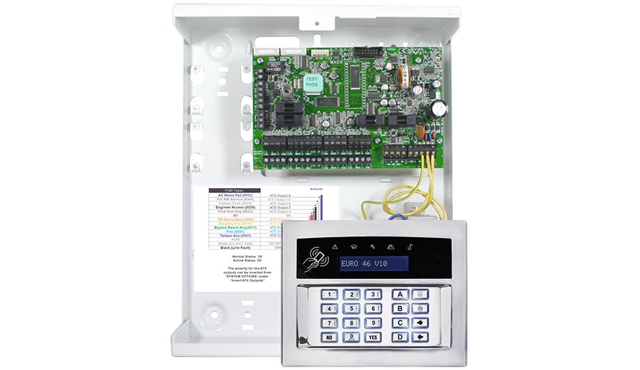 Pyronix Euro 46 V10 Control Panel For Intruder Market