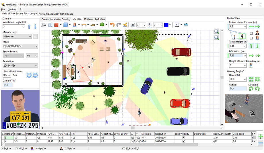 Hikvision and jvsg partner to support system specifiers for Cctv layout software