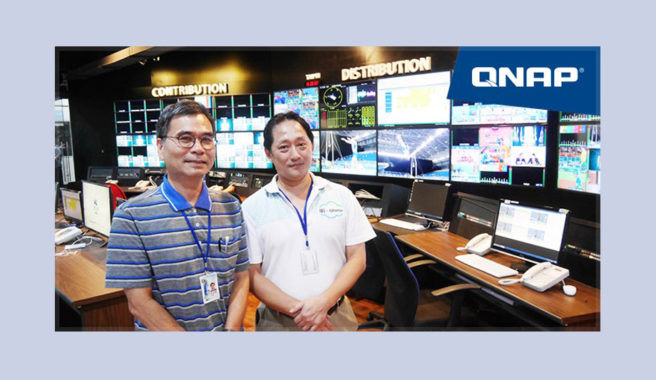QNAP storage, backup devices Chinese Television System