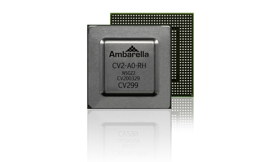 Ambarella|4K Camera SoC With CVflow Architecture And Stereovision