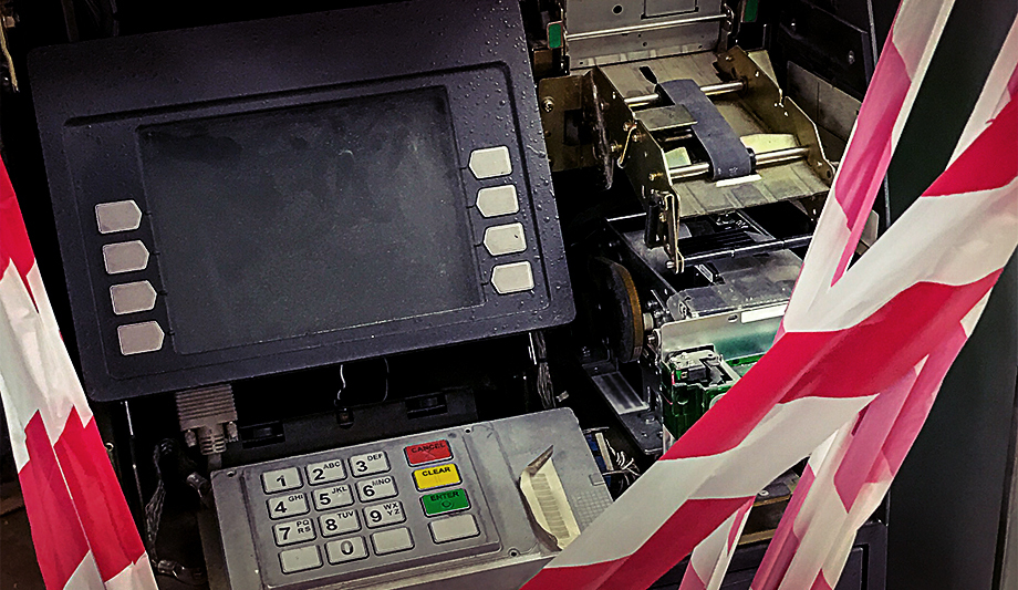 Preventing ATM jackpotting with security technology