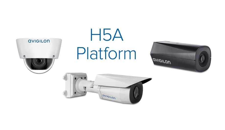 Avigilon's H5A camera line offers crowd tracking and object