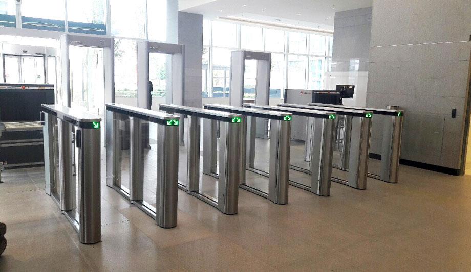 Boon Edam Turnstiles And Gates Ensure Authorised Access