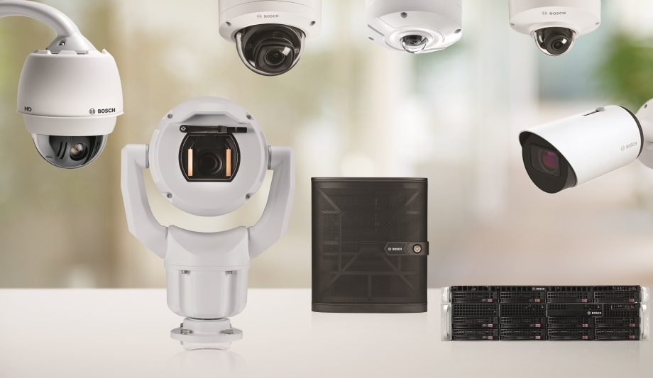 Bosch IP Cameras And Recording And Management Solutions At