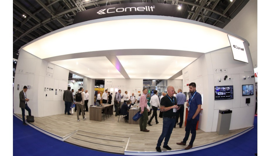 Comelit Showcased Entry Systems Home Automation And Cctv Ifsec