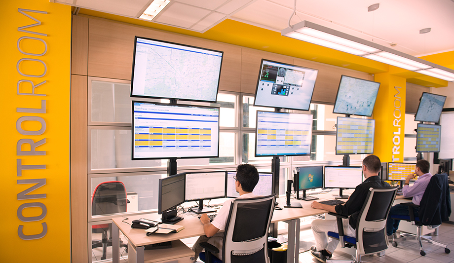Security Control Room Design Facilitates Emergency
