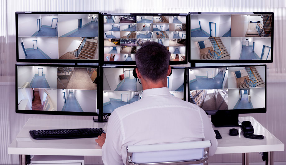 Security Control Room Furniture Accommodates New