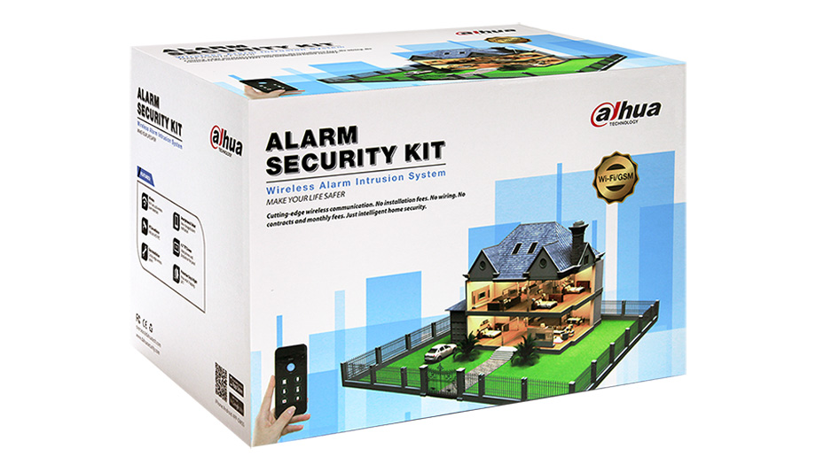 Dahua releases new wireless home security alarm kits