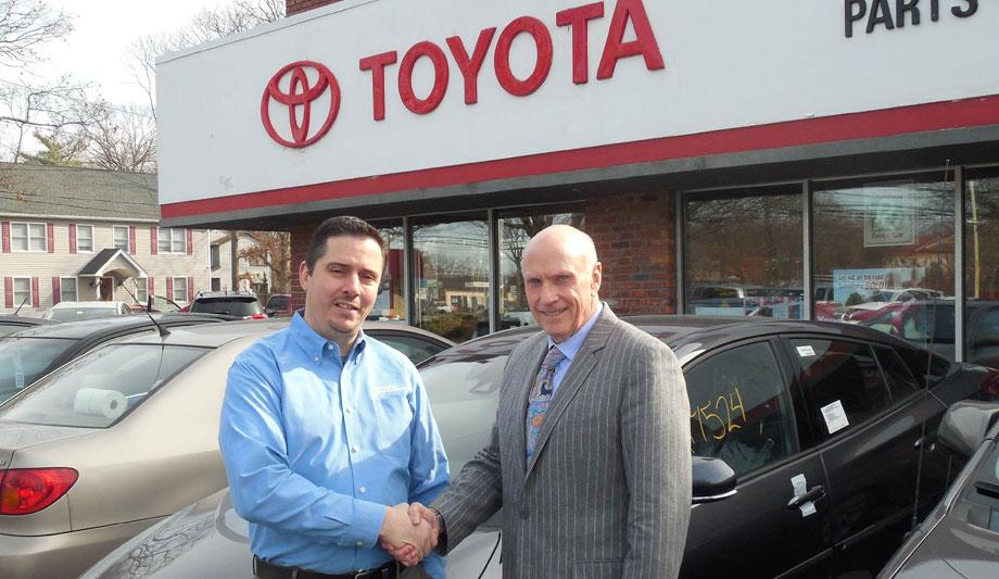 Digital Provisions burglar alarm system secures local car dealership