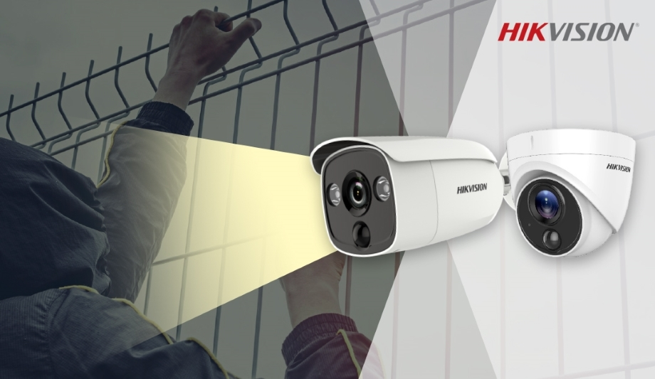 Hikvision's Turbo HD PIR Camera Offers Enhanced Perimeter
