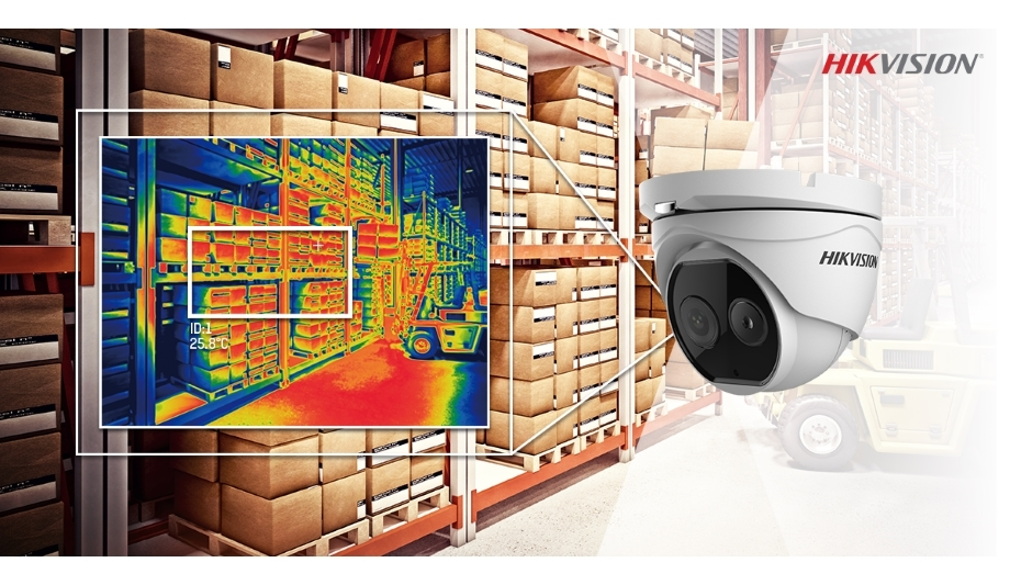 Hikvision launches Thermal Bi-spectrum Deep Learning Turret Camera