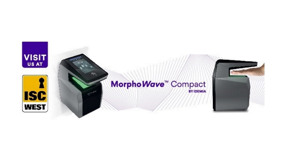 IDEMIA MorphoWave Compact for biometric access control | ISC