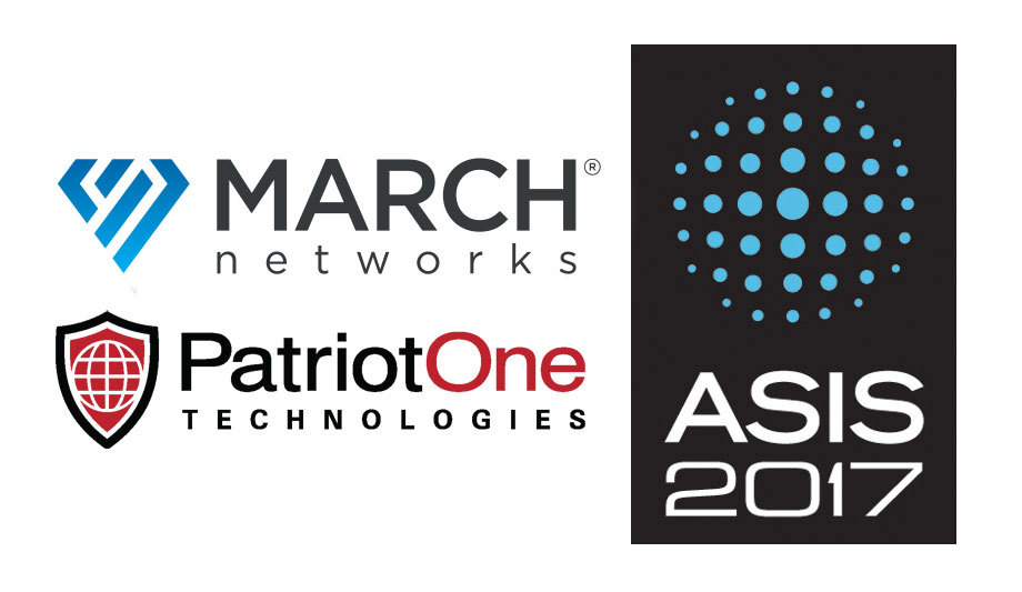 March Networks and Patriot One integration, ASIS 2017 | Security