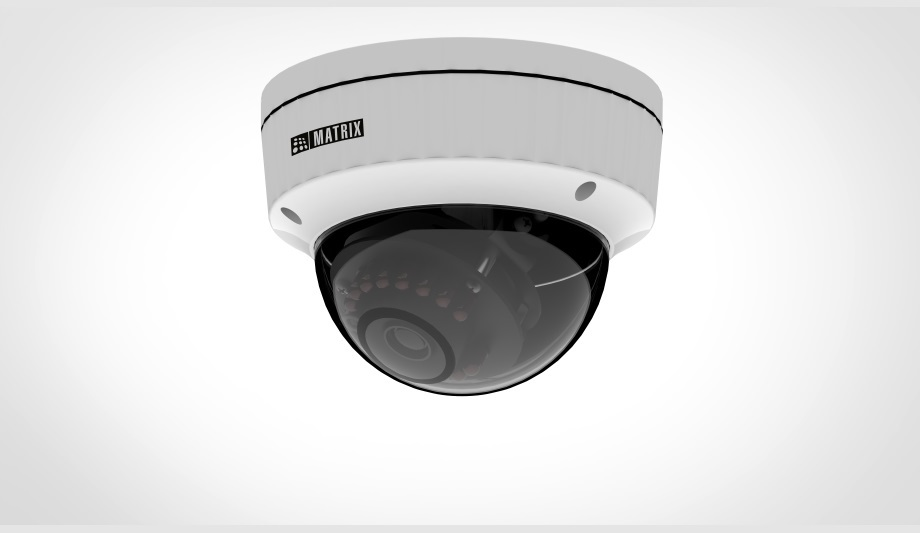 Matrix unveils 2MP IR Dome Camera with Sony STARVIS sensor