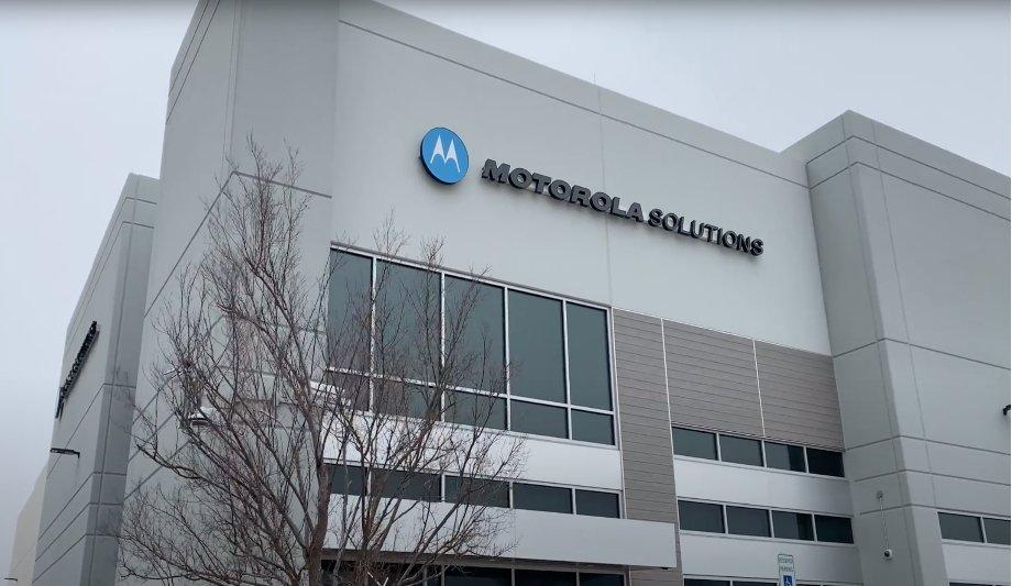 Motorola Solutions publicised new manufacturing facility ...