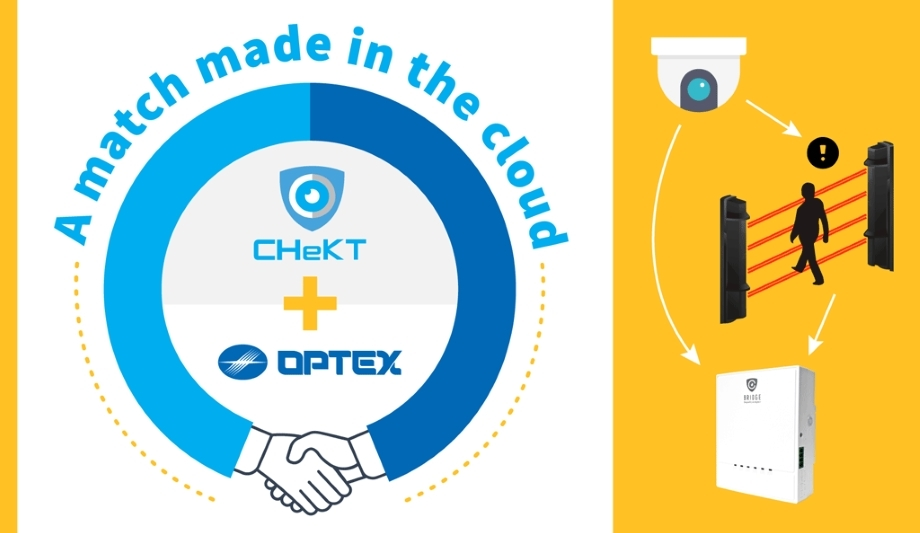 OPTEX Partners With CHeKT For Enhanced Intrusion Detection Solution