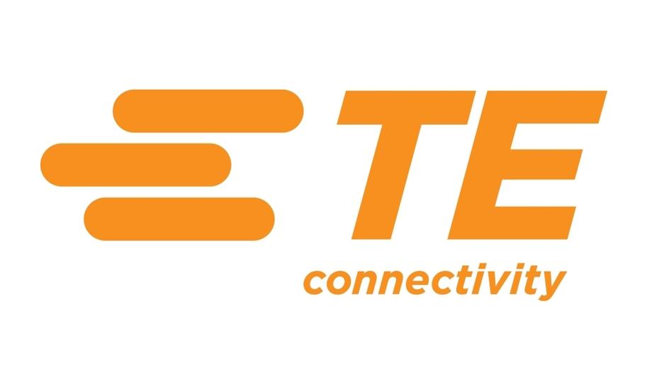 TE 커넥티비티 TE CONNECTIVITY의 로고 이미지