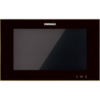 "Fermax 14703 WIT 7"" DOOR ENTRY MONITOR (BLACK) - MEET BY FERMAX"