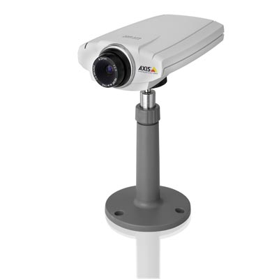 AXIS 210 network camera introduces high quality to mainstream surveillance market...