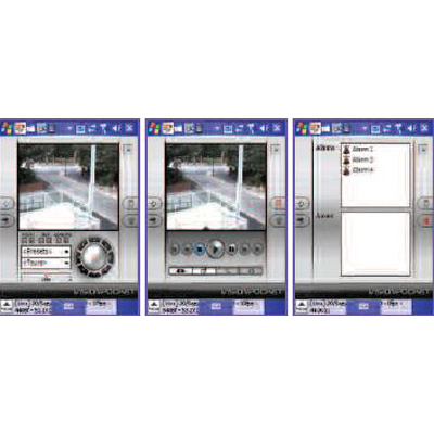 360 Vision Vision Pocket CCTV monitoring software for handheld and mobile devices