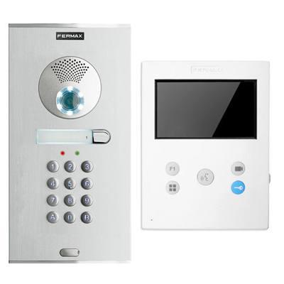 Fermax 1/W color VEO-XS DUOX keypad access control kit