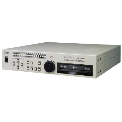 LG LDV-S154C 16-Channel DVR with DVD writer