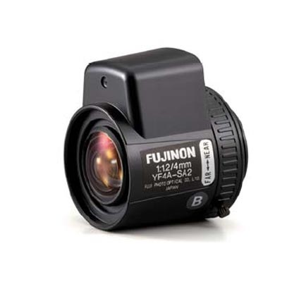 Fujinon YF2.8A-SA2B CCTV camera lens with auto iris