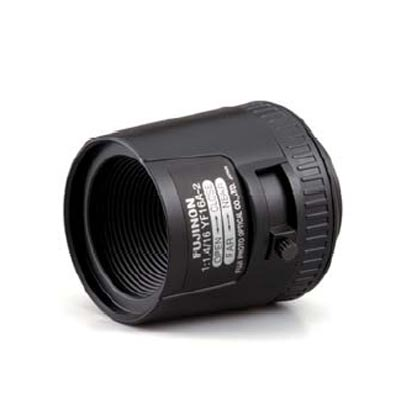 Fujinon YF8A-2 CCTV camera lens with manual iris