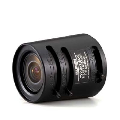 Fujinon YV2.2x1.4A-2 CCTV camera lens with manual iris