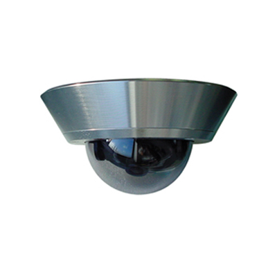 AASSET AST DC12P vandal resistant fixed dome camera