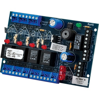Altronix ACM4CB Multi-Output Access Power Controller