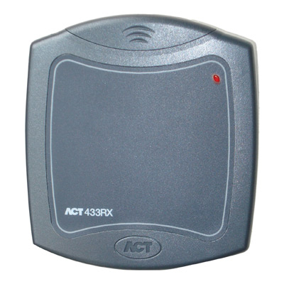 ACT 433 long range receiver & transmitters integrate gate entry/barrier control into existing access control systems