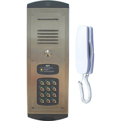 ACTentry A10 merges door entry with access control for a practical audio door entry system