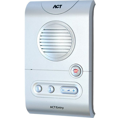 ACT ACTentry A5 Intercom audio, video or keypad entry with volume control buttons